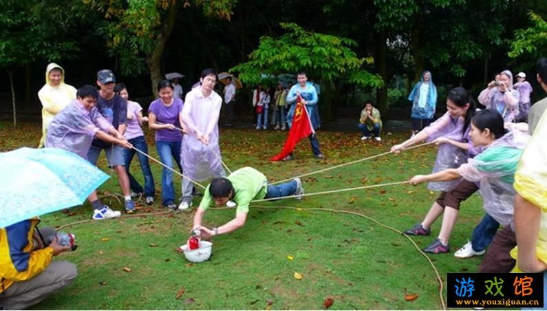 团队游戏_农学院儋州校区开展快乐星期六团队游戏活动